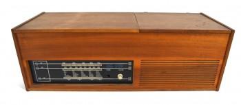 Retro Retro rádio s gramofonem