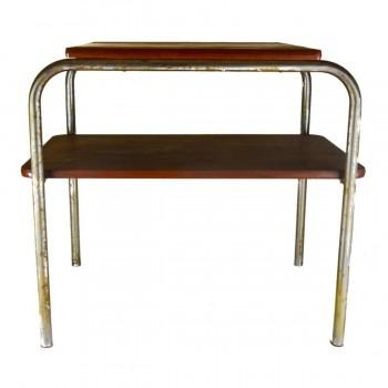 Retro Chromový konferenční stolek