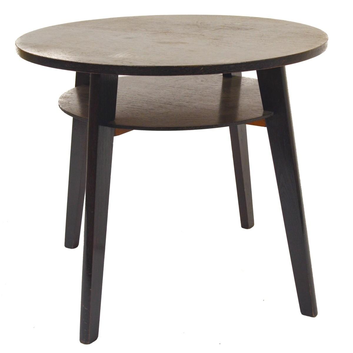Retro kulatý stolek