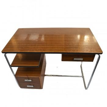 Retro Chromový psací stůl