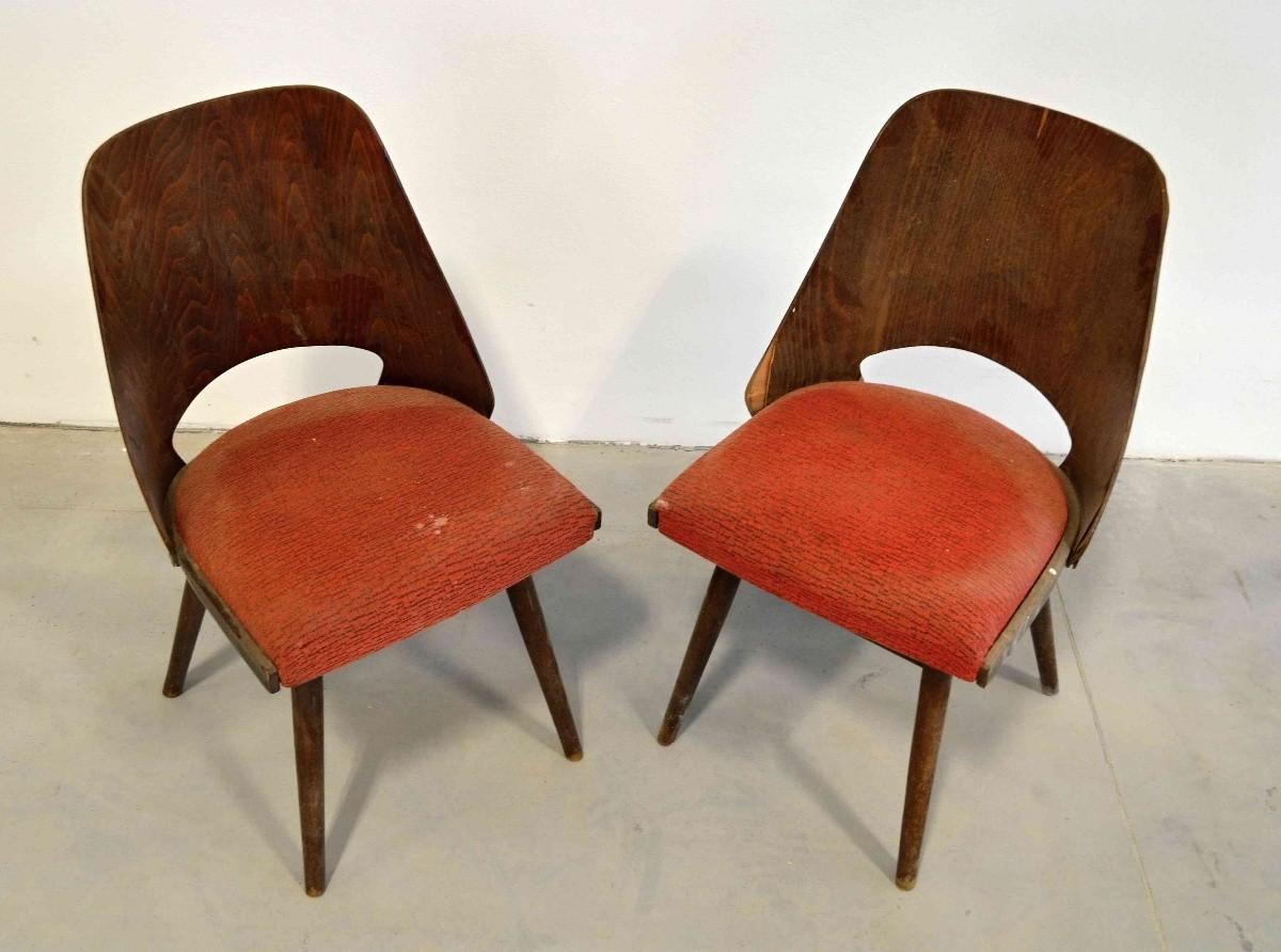 Židle TON 514 Oswald Haerdtl III.