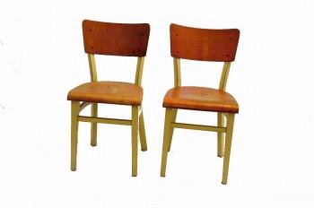 Retro Židle dřevěná I.