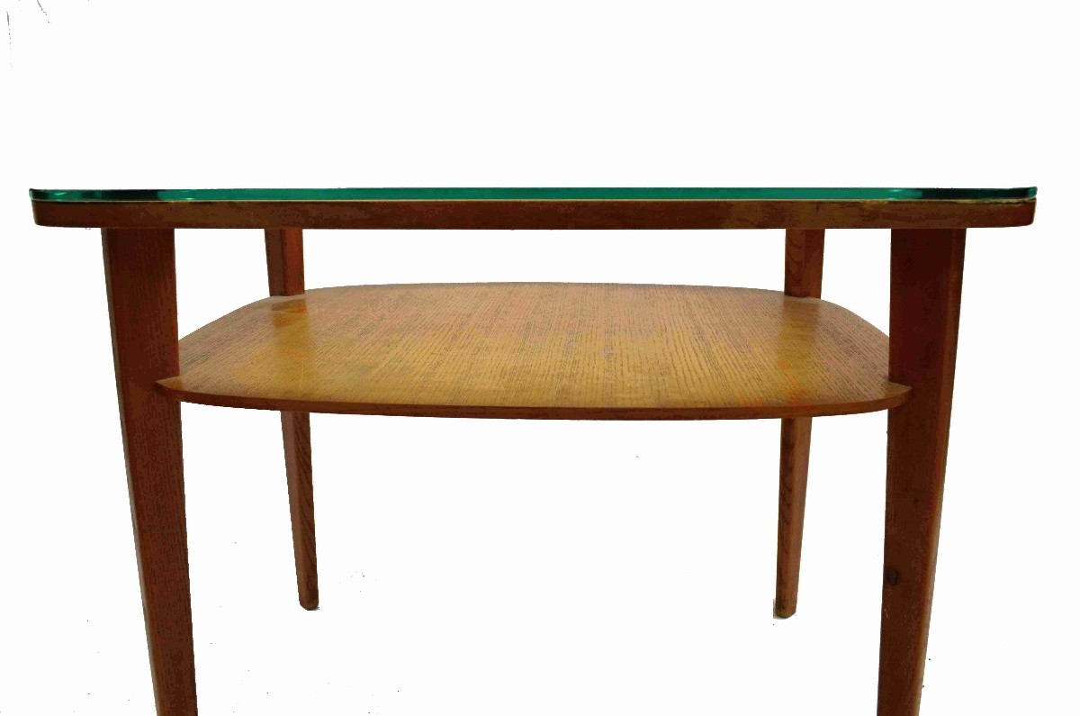 Retro hranatý stolek
