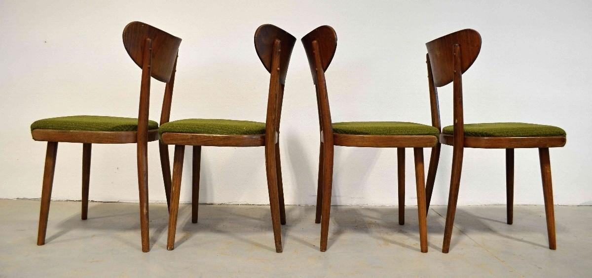 Židle Thonet zelené