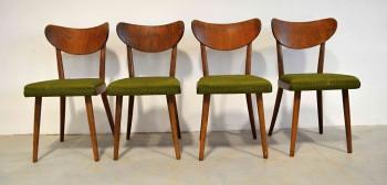 Retro Židle Thonet zelené