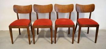 Retro Židle Thonet červené