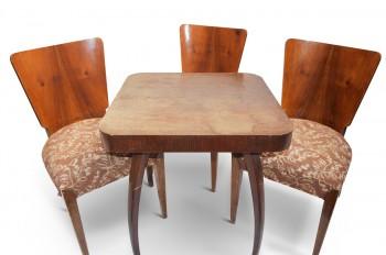 Retro Jídelní židle H214+stolek